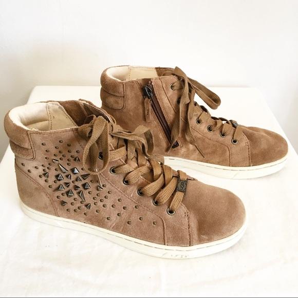 e874ec6f5f2 NWOB Ugg Gradie Deco High Top Sneakers Size 7